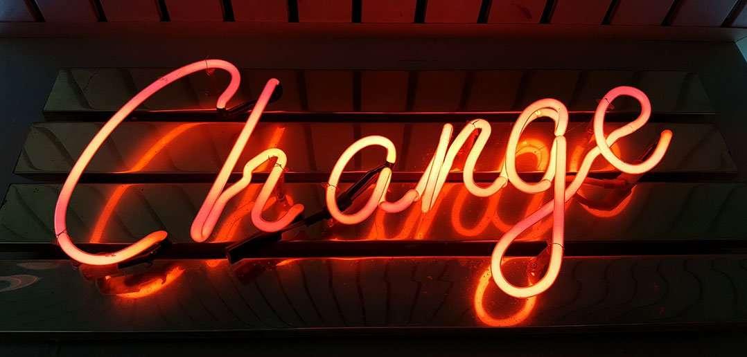 Veliké změny začínají vámi