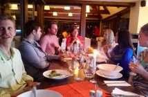 večeře po workshopu