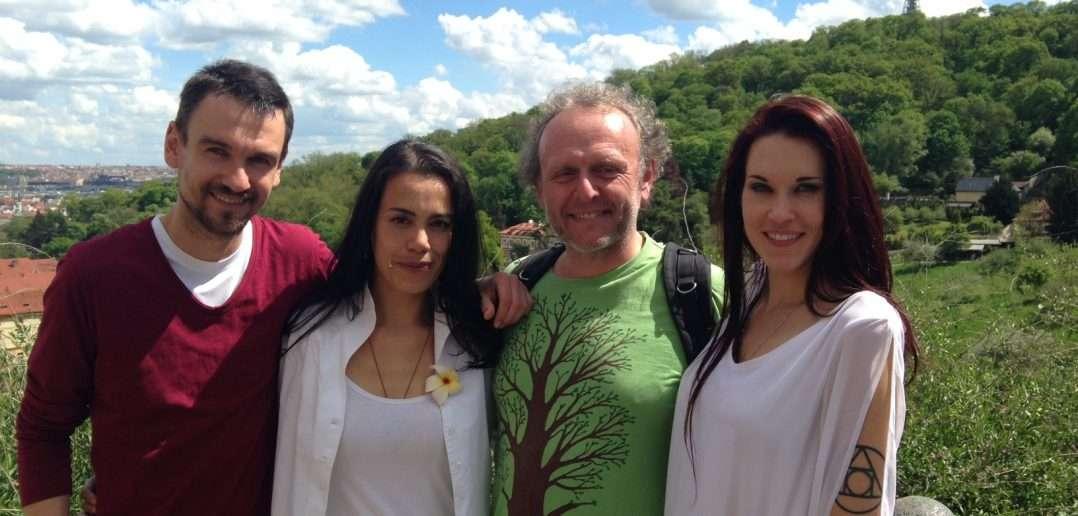 Juraj, Diana, Jaroslav a Teal